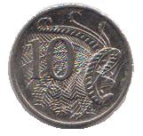 Australian Ten Cent Piece
