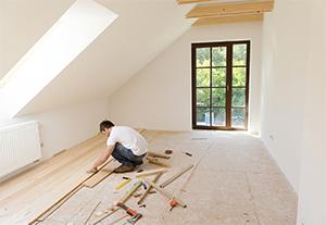 Renovating a timber floor