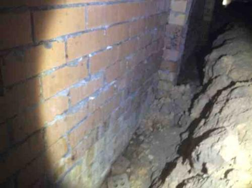 Ashmore Inspection Jan 2016 Damage to Wall